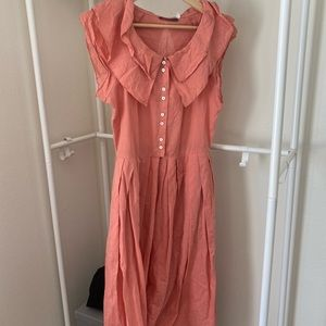 Coral Pink Fairy Dress